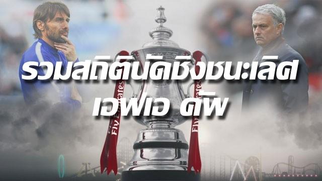 สถิตินัดชิงชนะเลิศ FA CUP 2017-18