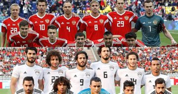 ข่าวฟุตบอลโลก 2018 รัสเซีย vs อียิปต์