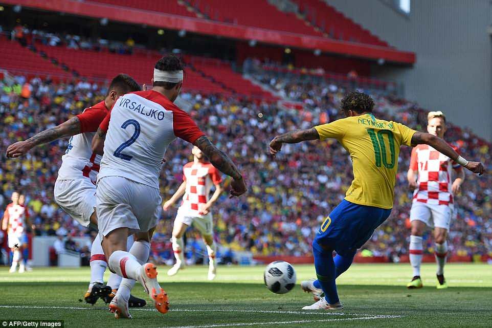 บราซิล vs โครเอเชีย