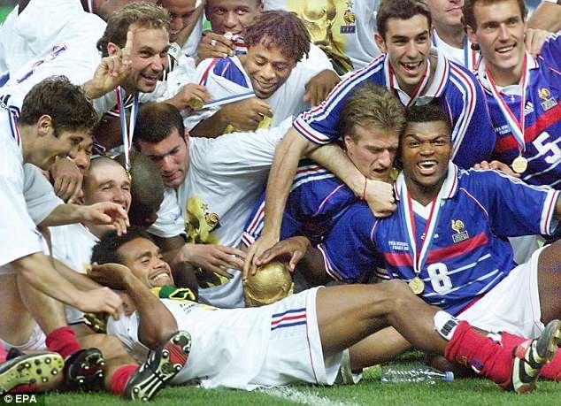 ฝรั่งเศส แชมฟุตบอลโลก 1998