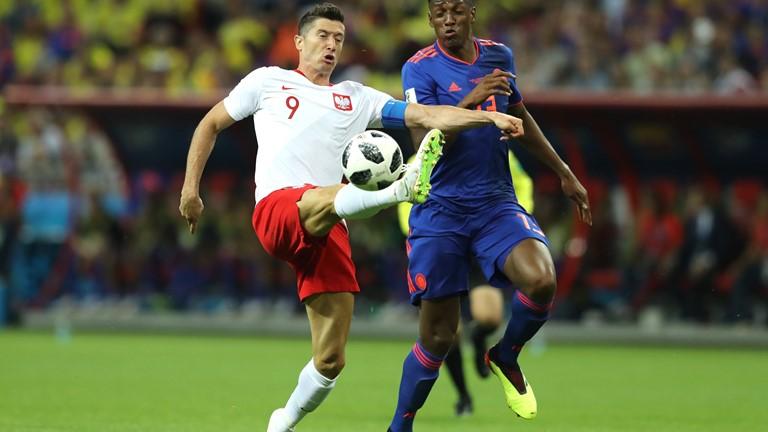 โปแลนด์ vs โคลอมเบีย