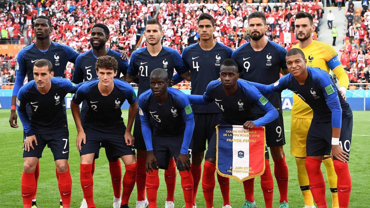 ฝรั่งเศส บอลโลก 2018