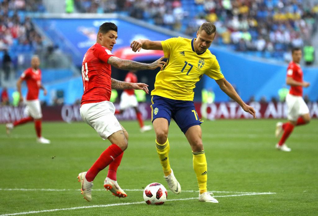สวีเดน vs สวิสเซอร์แลนด์