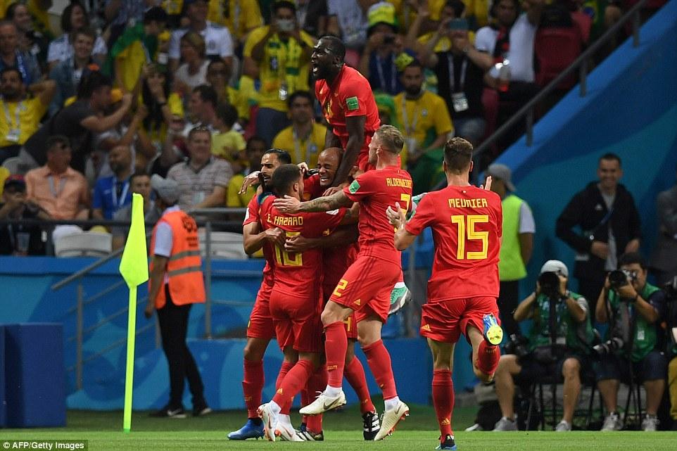 เบลเยียม บอลโลก 2018