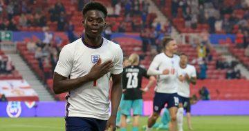 บูคาโย ซาก้า ซัดประตูโทน ช่วยอังกฤษเอาชนะออสเตรีย 1-0